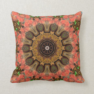 Flowers Abundant. Throw Pillow