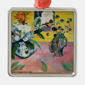 Flowers and a Japanese Print, 1889 Christmas Ornament