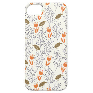 Flowers and Birds Neutral Phonecase Case For The iPhone 5