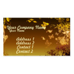 Flowers and Butterflies Business Card Templates