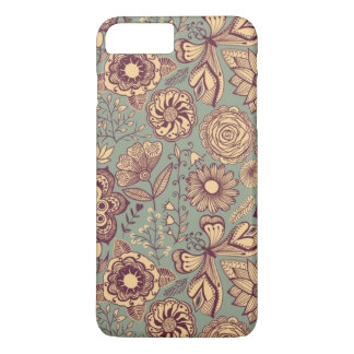 Flowers and Butterflies iPhone 8 Plus/7 Plus Case
