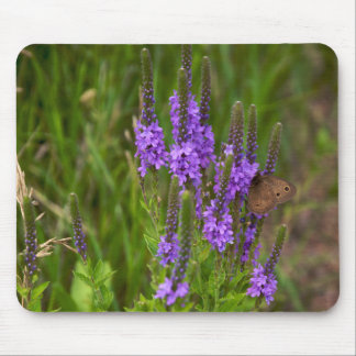 Flowers and Butterfly Mousepad