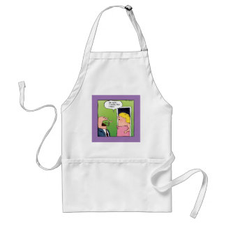 Flowers and Candy Romantic Cartoon Adult Apron