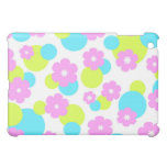 Flowers and circles - iPad case