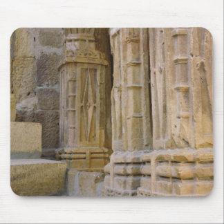 Flowers and columns, Jaisalmer Fort, Jaisalmer, Mouse Pad