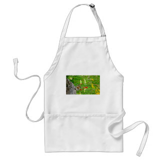 Flowers and cute cubby little Chipmunk Aprons