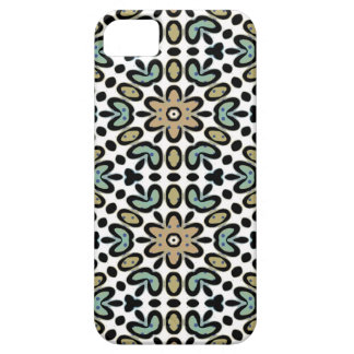 FLOWERS AND DOTS iPhone 5 Case-Mate Case iPhone 5 Cases