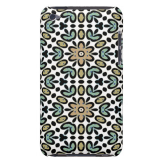 FLOWERS AND DOTS iPod Touch Case-Mate Case