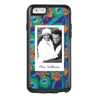 Flowers And Feathers | Add Your Photo & Name OtterBox iPhone 6/6s Case