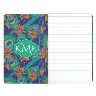 Flowers And Feathers   Monogram Journal