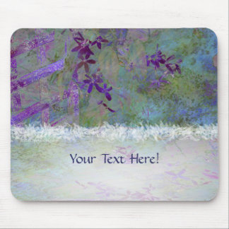 Flowers and Feathers Mousepad