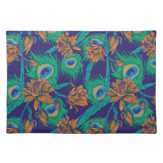 Flowers And Feathers Placemat