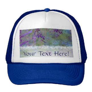 Flowers and Feathers Trucker Hats