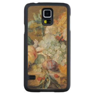Flowers and Fruit Carved Maple Galaxy S5 Case