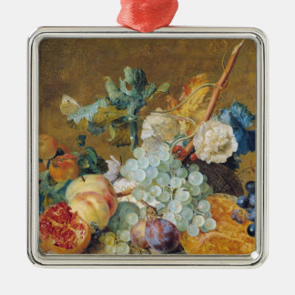 Flowers and Fruit Christmas Ornament