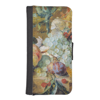 Flowers and Fruit iPhone SE/5/5s Wallet Case