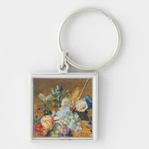 Flowers and Fruit Key Chain