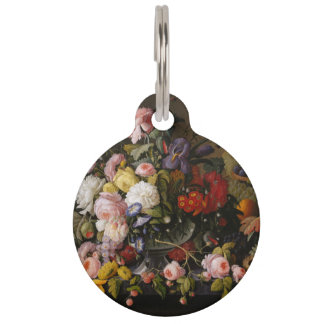 FLOWERS AND FRUIT PET TAG