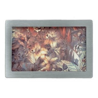 flowers and fruits belt buckles