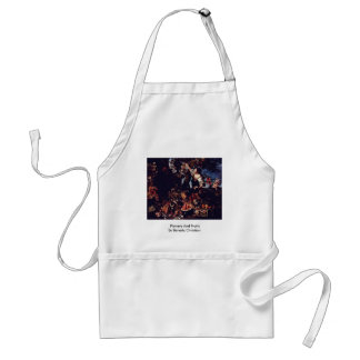 Flowers And Fruits By Berentz Christian Apron