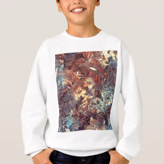 flowers and fruits sweatshirt