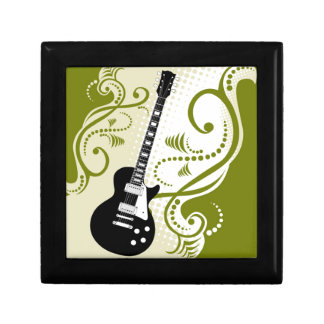 Flowers and Guitar Giftboxes Gift Box