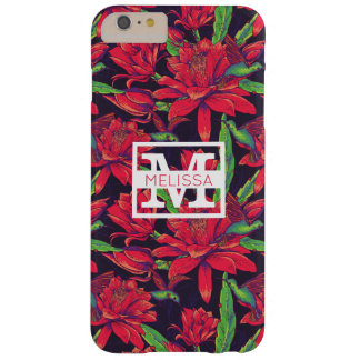 Flowers And Hummingbirds | Add Your Name Barely There iPhone 6 Plus Case