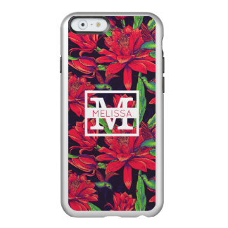 Flowers And Hummingbirds | Add Your Name Incipio Feather® Shine iPhone 6 Case