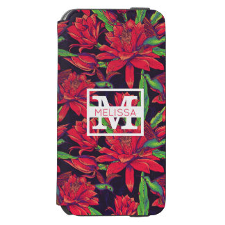 Flowers And Hummingbirds | Add Your Name Incipio Watson™ iPhone 6 Wallet Case