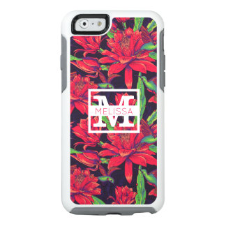Flowers And Hummingbirds | Add Your Name OtterBox iPhone 6/6s Case
