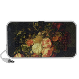 Flowers and Insects, 1711 (oil on panel) Mp3 Speakers