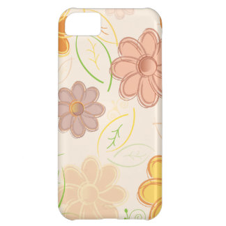 Flowers and Leaves iPhone 5C Case