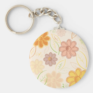 Flowers and Leaves Keychains