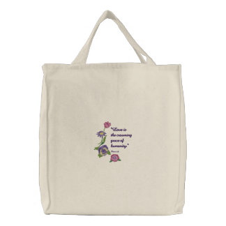 Flowers and Love Bag