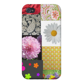 Flowers and Paisley iPhone 4 Covers