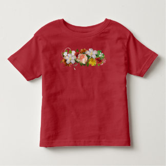 Flowers and Ribbon Toddler T-Shirt