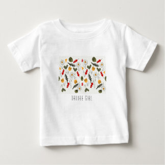 Flowers and seeds for child or woman baby T-Shirt