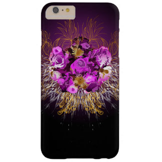 Flowers and swirls in givenchy style barely there iPhone 6 plus case