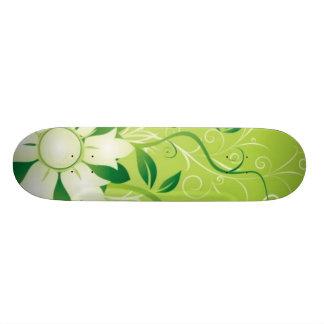 flowers_and_swirls skate deck