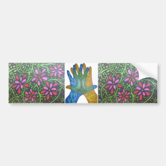 Flowers and Tree Bumper Stickers