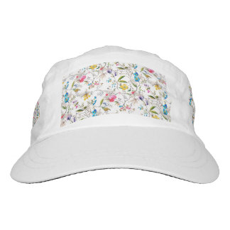 Flowers and Vines Textile Print Hat
