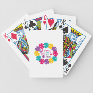 Flowers Are A Girl s Best Friend Card Deck
