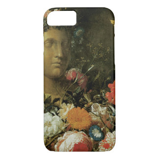 Flowers Around a Classical Bust iPhone 8/7 Case