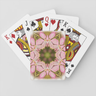 Flowers Art Playing Cards