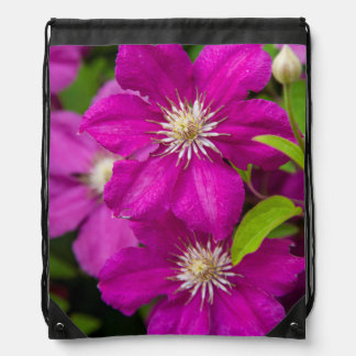 Flowers at Robinette's Apple Haus and Gift Barn 2 Drawstring Bag
