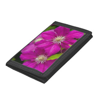Flowers at Robinette's Apple Haus and Gift Barn 2 Tri-fold Wallets
