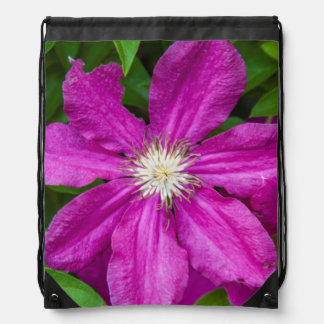 Flowers at Robinette's Apple Haus and Gift Barn Drawstring Bag