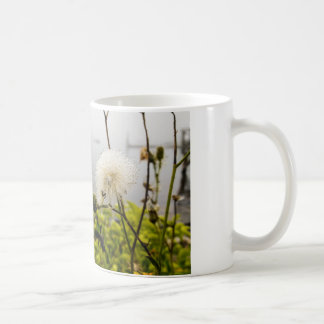 Flowers at the Ocean Coffee Mug