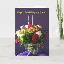 Birthday Best Friends Greeting Cards, Happy Birthday Be