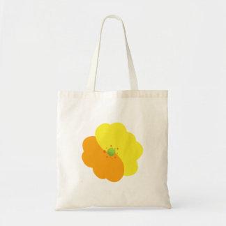 Flowers, Blossoms, Blooms, Petals - Orange Yellow Tote Bag